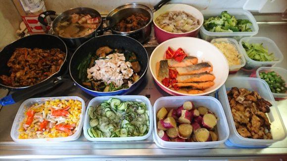 作り置き料理