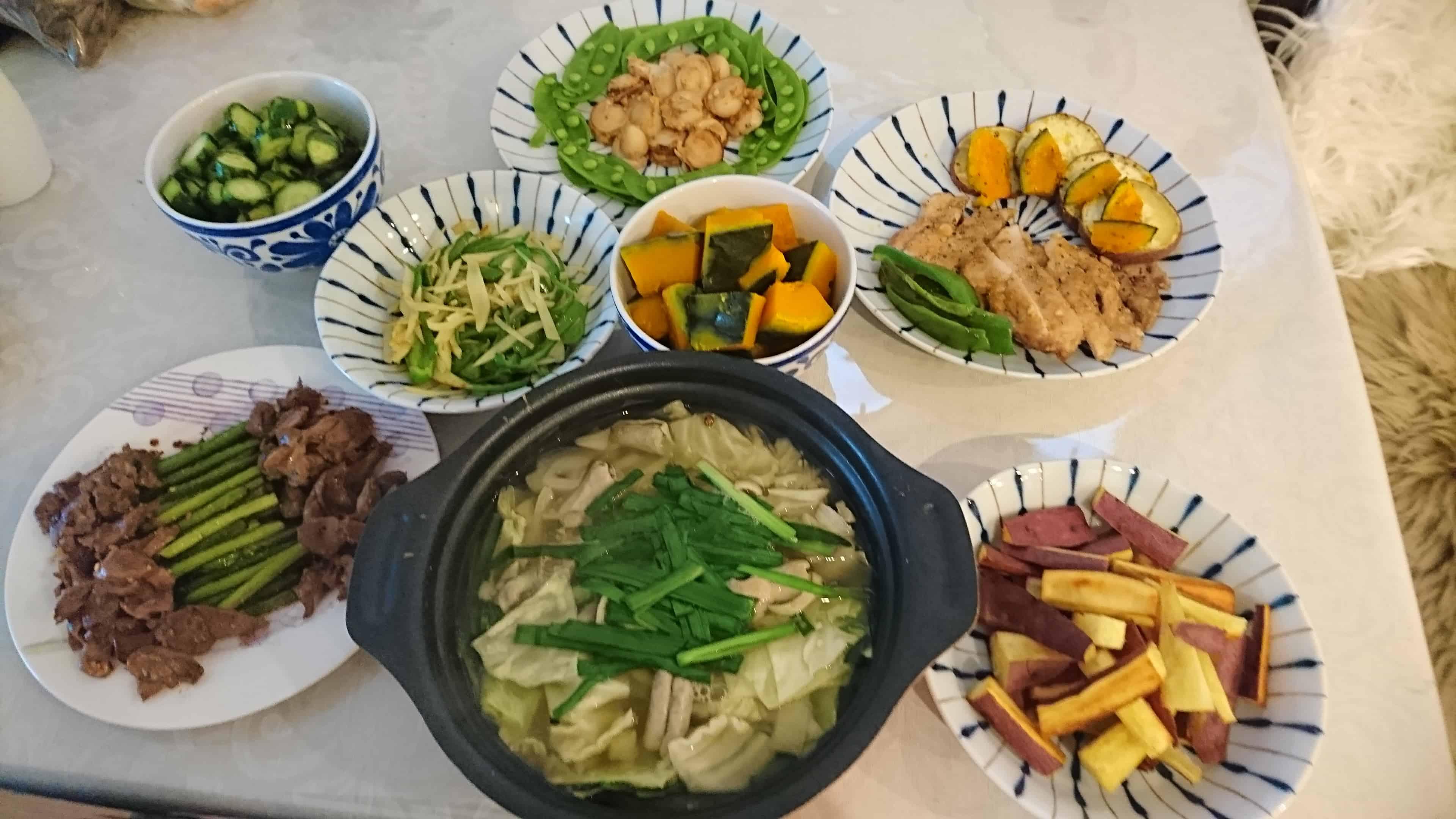 名古屋スタッフ料理