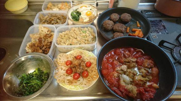 名古屋スタッフの料理写真
