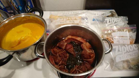 名古屋スタッフ料理3