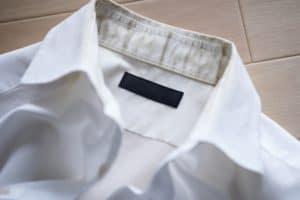 ワイシャツ襟シミ汚れ